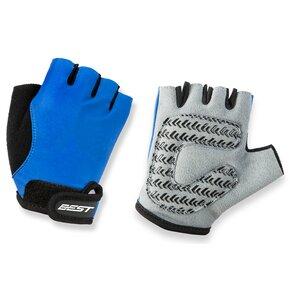 Rękawiczki rowerowe KROSS Cuddly Girl Niebieski (Rozmiar S)