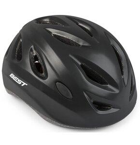 Kask rowerowy BEST City Czarny Szosowy (rozmiar  L)