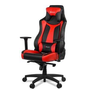 Fotel AROZZI Vernazza Czarno-czerwony