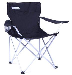 Krzesło turystyczne SPOKEY Angler Czarno-biały