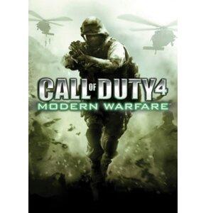 Kod aktywacyjny Gra MAC Call Of Duty 4 Modern Warfare