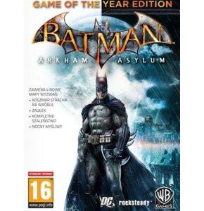 Kod aktywacyjny Gra PC Batman - Arkham Asylum Game of The Year Edition