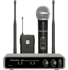 Zestaw bezprzewodowy NOVOX Free HB2 z dwoma mikrofonami