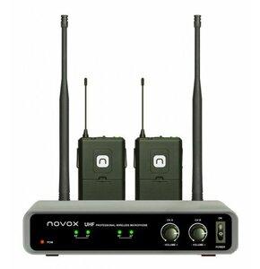 Zestaw bezprzewodowy NOVOX Free B2 z dwoma mikrofonami