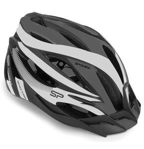 Kask rowerowy SPOKEY Spectro Szary (rozmiar 55-58)