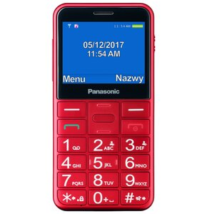 Telefon PANASONIC KX-TU150 Czerwony
