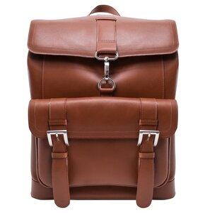 Plecak na laptopa MCKLEIN Hagen 15.6 cali Brązowy