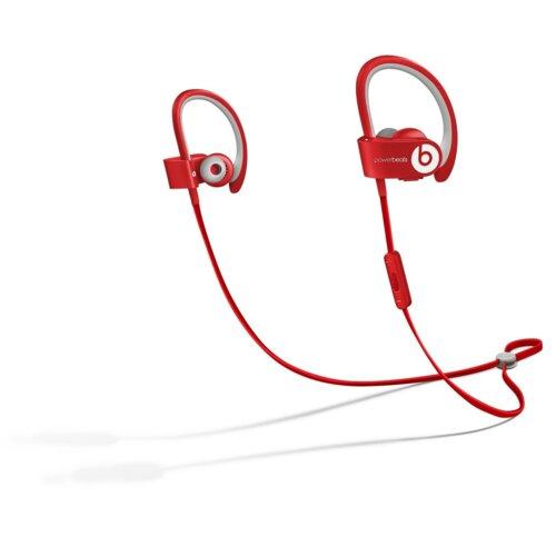 Słuchawki douszne BEATS BY DR. DRE Powerbeats 2 Wireless Czerwony