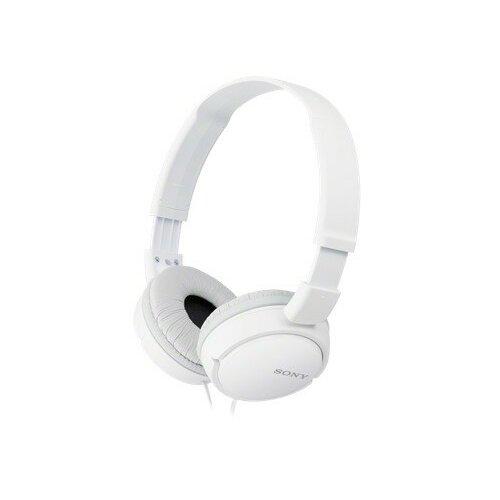 Słuchawki nauszne SONY MDRZX110APW z mikrofonem Biały
