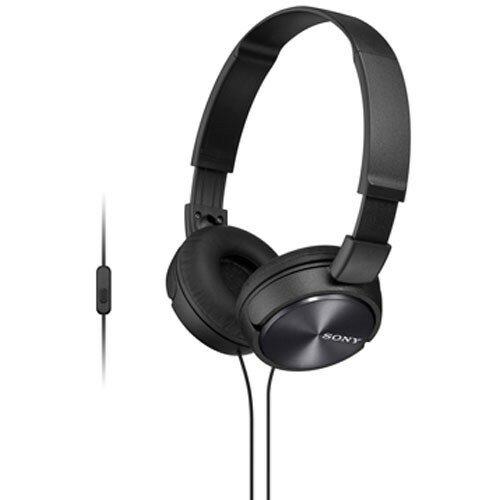 Słuchawki nauszne SONY MDRZX310APB z mikrofonem Czarny