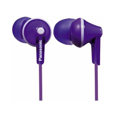 Słuchawki dokanałowe PANASONIC RP-HJE125E-V Fioletowy