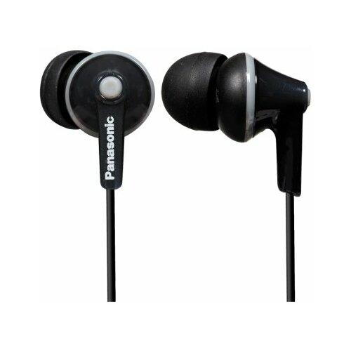 Słuchawki dokanałowe PANASONIC RP-HJE125E-K Czarny