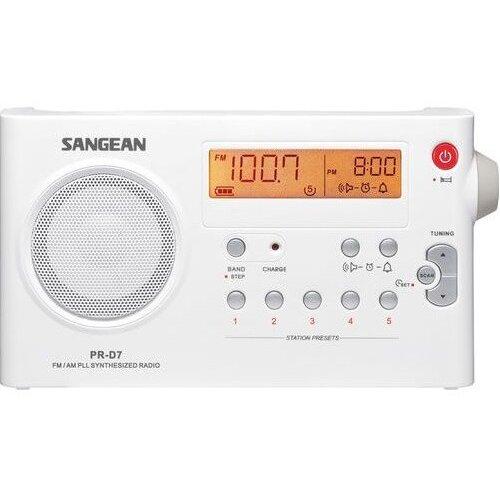 Radio SANGEAN PR-D 7 Biały