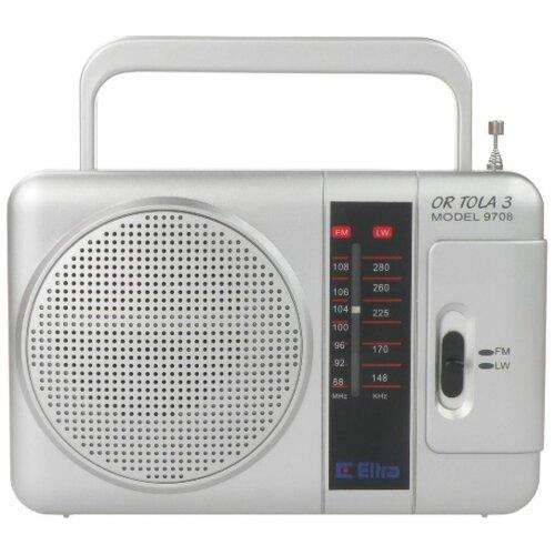 Radio ELTRA Tola 3 Srebrny
