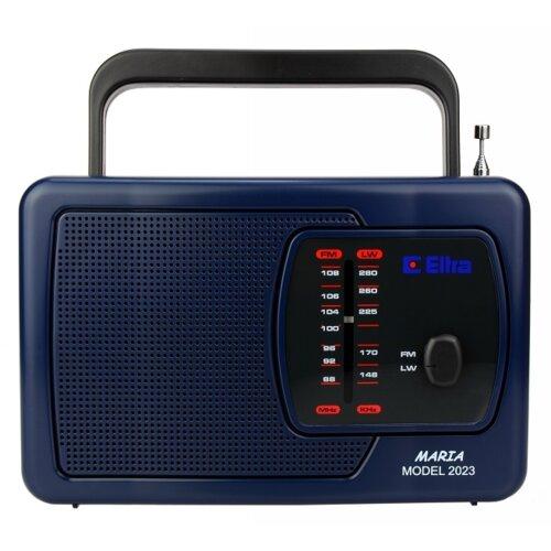 Radio ELTRA Maria granatowe 2023