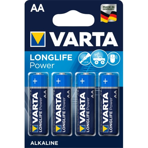 Baterie AA LR6 VARTA Longlife Power (4 szt.)