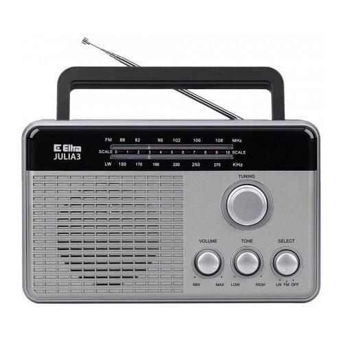 Radio ELTRA Julia 3 Srebrny