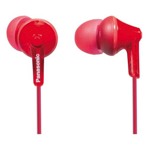 Słuchawki dokanałowe PANASONIC RP-HJE125E-R Czerwony