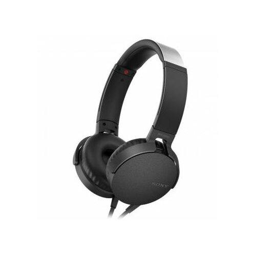 Słuchawki nauszne SONY MDR-XB550APB z mikrofonem Czarny
