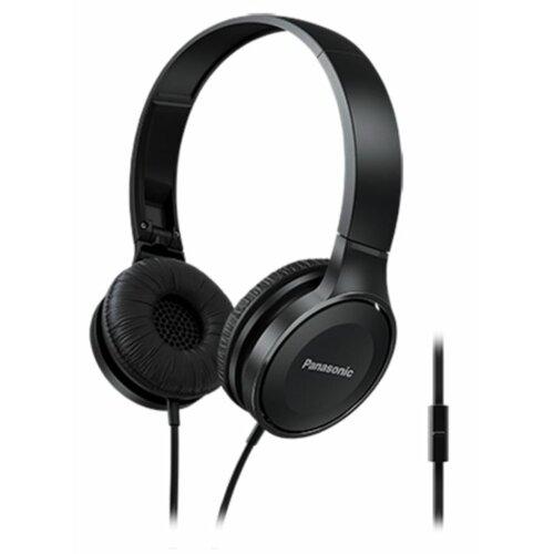 Słuchawki nauszne PANASONIC RP-HF100ME-K z mikrofonem Czarny