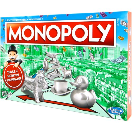 Gra planszowa HASBRO Monopoly Classic