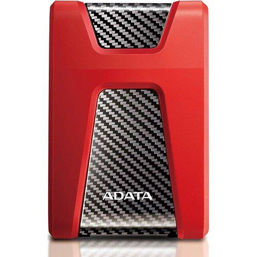 Dysk ADATA Durable HD650 2TB HDD Czerwony