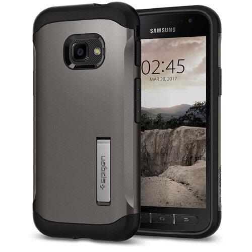 Etui SPIGEN Slim Armor do Samsung Galaxy Xcover 4/4S Stalowy