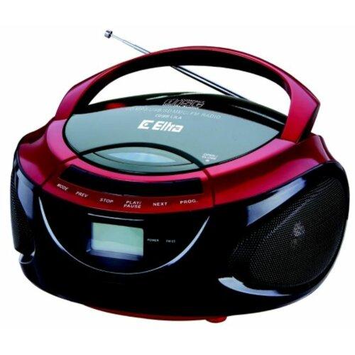 Radioodtwarzacz ELTRA CD98 Lila Czarno-czerwony