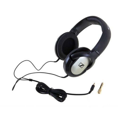 Słuchawki nauszne SENNHEISER HD 201 Czarno-srebrny