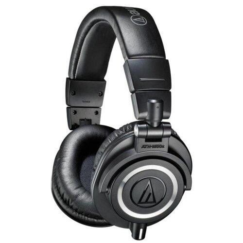 Słuchawki nauszne AUDIO-TECHNICA ATH-M50X Czarny