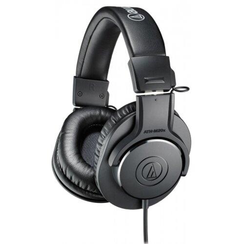 Słuchawki nauszne AUDIO-TECHNICA ATH-M20X Czarny