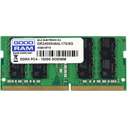 Pamięć RAM GOODRAM 8GB 2400MHz GR2400S464L17S/8G