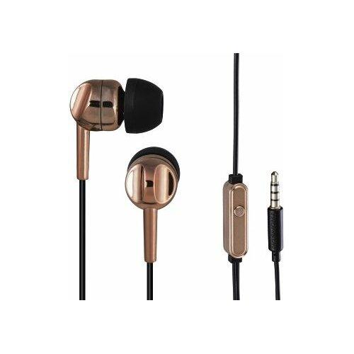Słuchawki dokanałowe THOMSON EAR3005BO Miedziany