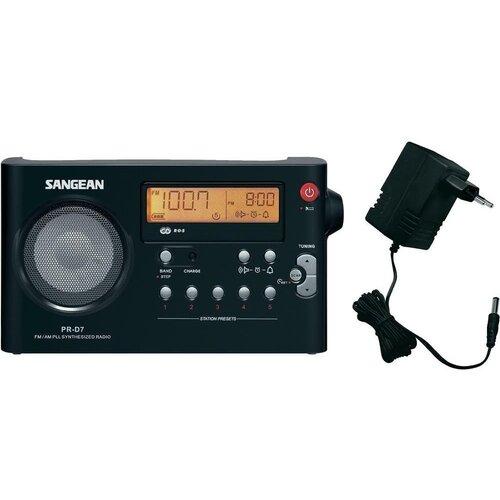Radio SANGEAN PR-D 7 Czarny