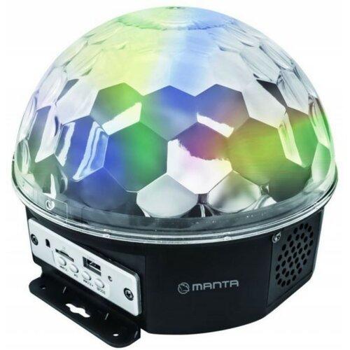 Kula Świetlna MANTA MP3 Crystal Ball Light MDL001