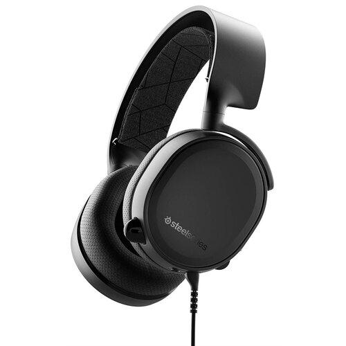 Słuchawki STEELSERIES Arctis 3 Czarny