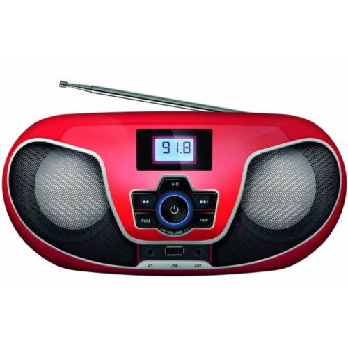 Radioodtwarzacz MANTA BBX005 Nerva Czerwono-czarny