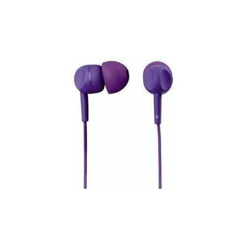 Słuchawki dokanałowe THOMSON EAR3005PL z mikrofonem Fioletowy