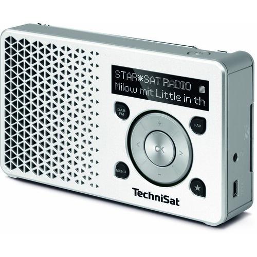 Radio TECHNISAT Digitradio 1 Biało-srebrny