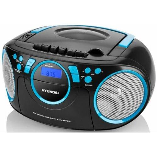 Radioodtwarzacz HYUNDAI TRC 788 AU3BBL Czarno-niebieski