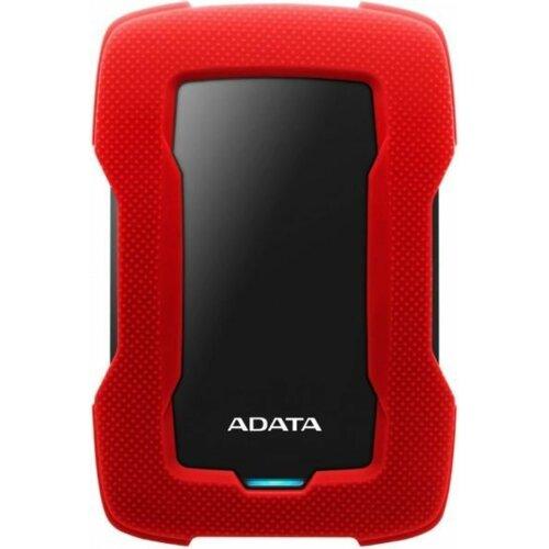 Dysk ADATA Durable Lite HD330 1TB HDD Czerwony