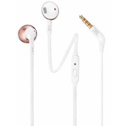 Słuchawki douszne JBL T205 Różowy