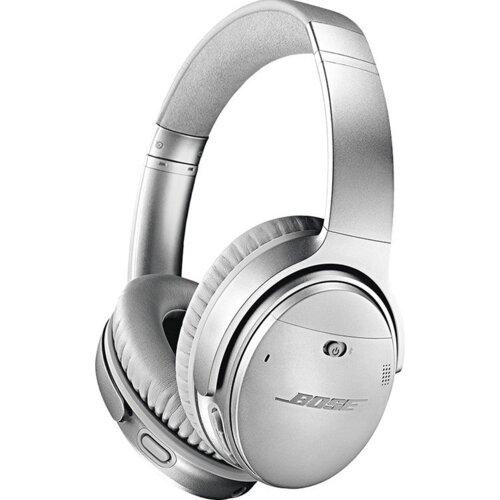Słuchawki nauszne BOSE Bluetooth QuietComfort 35 II ANC Srebrny