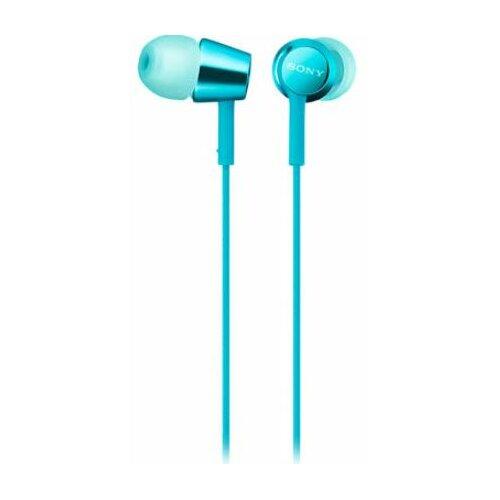 Słuchawki dokanałowe SONY MDREX155APLI Niebieski