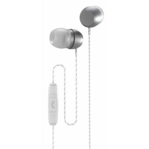 Słuchawki dokanałowe XMUSIC AEP301S Srebrny