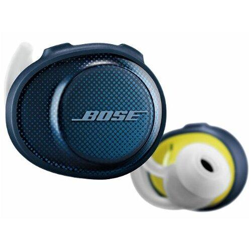 Słuchawki dokanałowe BOSE SoundSport Free Wireless Niebiesko-żółty