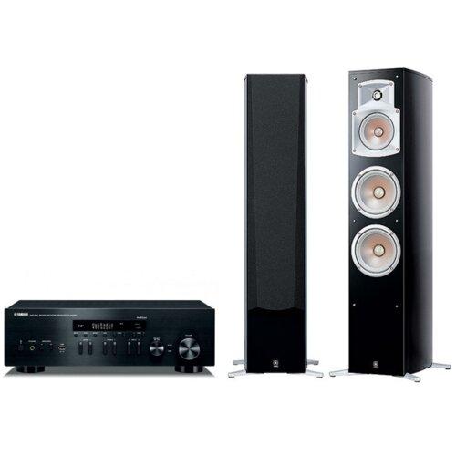 Zestaw stereo YAMAHA R-N402D + NS-555 (Para)