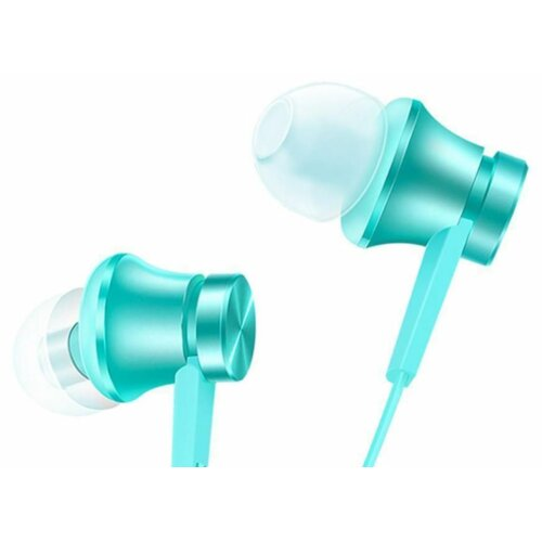 Słuchawki dokanałowe XIAOMI Mi Piston Headphones Basic Turkusowy