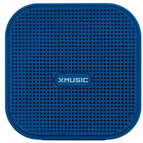 Głośnik mobilny XMUSIC BTS300B Niebieski Bluetooth slot na kartę pamięci