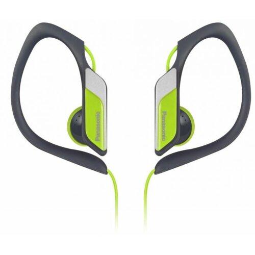 Słuchawki douszne PANASONIC RP-HS34E-Y Zielono-czarny